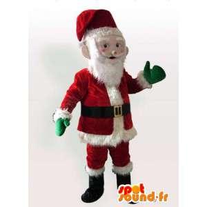 Maskotti joulupukki - Joulupukin puku - MASFR004093 - joulun Maskotteja