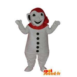 Snowman Costume - Costume Snowman - MASFR004095 - Human mascots