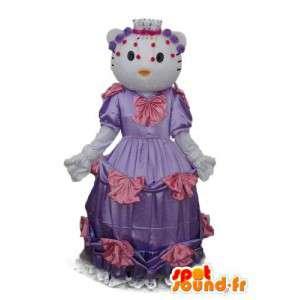 Costume Olá Kitty - traje Olá Kitty - MASFR004104 - Hello Kitty Mascotes