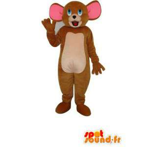Mascotte de Jerry la souris - costume de Jerry la souris