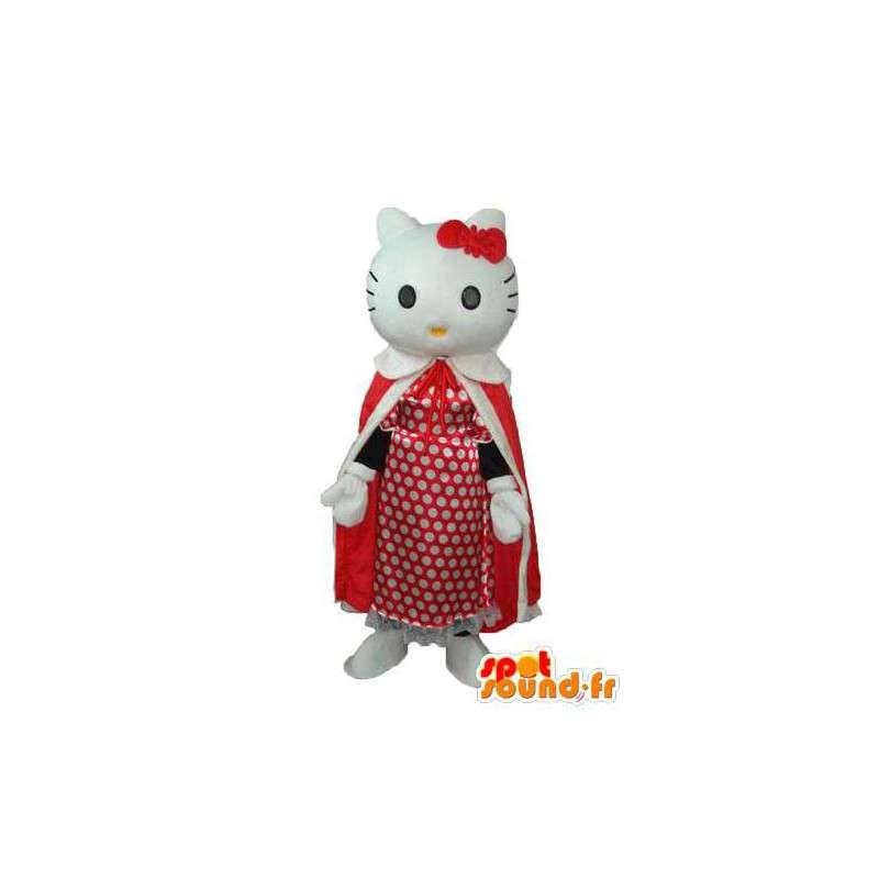 εκπρόσωπος μασκότ Γεια σας - Γεια μεταμφίεση - MASFR004108 - Hello Kitty μασκότ