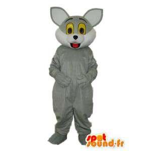 Skjule en grå mus - Costume av en grå mus