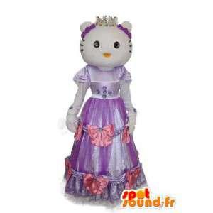 Skjule representerer Hei - Hei Costume - MASFR004111 - Hello Kitty Maskoter