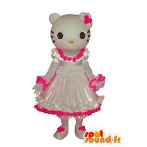 Kostüm Vertreter Hallo Kleid - MASFR004112 - Maskottchen Hello Kitty