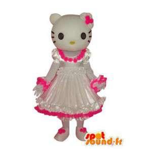 Costume représentant Hello en robe - MASFR004112 - Mascottes Hello Kitty