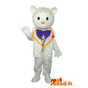 Kostüm Vertreter Tippy Mitschüler Hallo - MASFR004118 - Maskottchen Hello Kitty