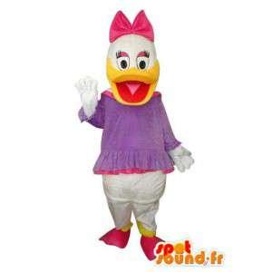 Mascote representante Mimi, sobrinha do Tio Patinhas