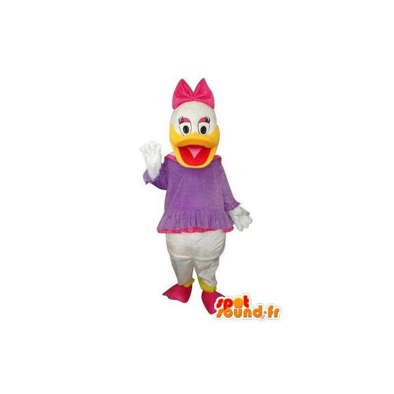 Mascote representante Mimi, sobrinha do Tio Patinhas - MASFR004123 - Donald Duck Mascot