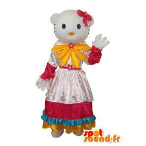 Costume representative Hello petal dress - MASFR004124 - Mascots Hello Kitty