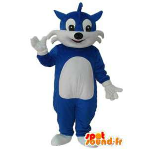 Cat traje azul - traje azul gato