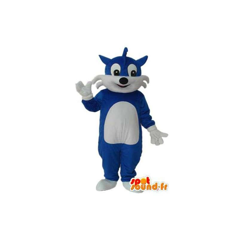 Costume de chat bleue - Déguisement de chat bleu - MASFR004126 - Mascottes de chat