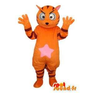 Tiger-Kostüm orange - orange Tiger-Kostüm - MASFR004127 - Tiger Maskottchen