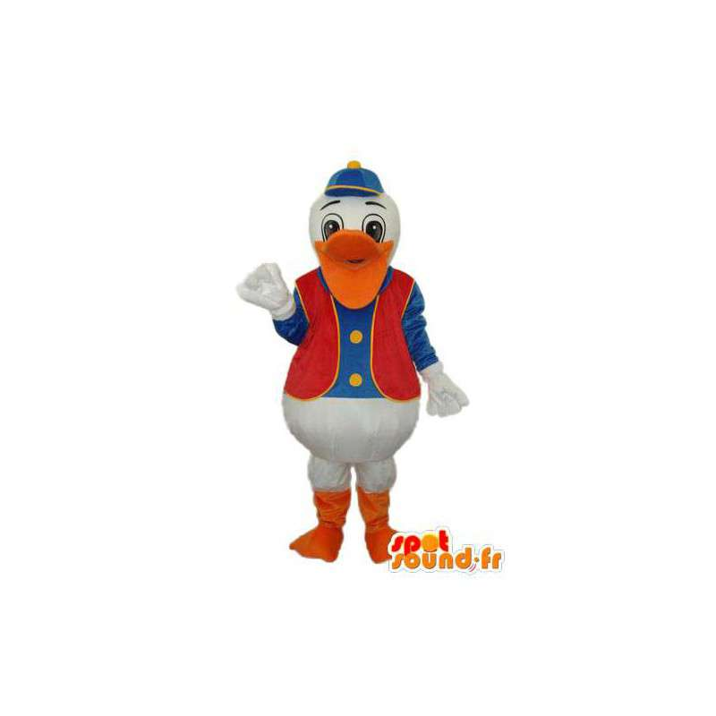 Mascot Donald Duck vertegenwoordiger - Klantgericht - MASFR004135 - Donald Duck Mascot