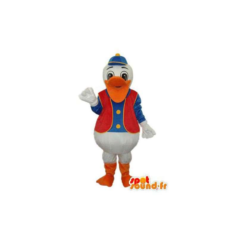 Maskot Donald Duck zástupce - přizpůsobitelný - MASFR004135 - Donald Duck Maskot
