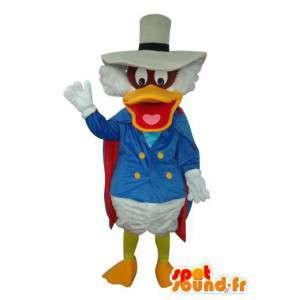 Maskot som representerar Donald Duck - anpassningsbar -