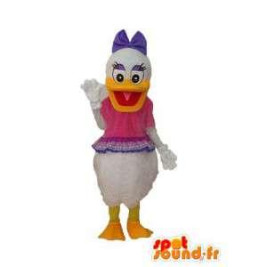 Daisy Duck Mascot - vermommen verschillende maten
