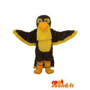 Skjule viser en gul-bellied ørn - MASFR004152 - Mascot fugler
