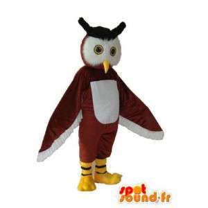 Cape Owl maskot - Förkläd flera storlekar - Spotsound maskot