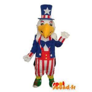 Mascot representando o pássaro nacional dos Estados Unidos da América