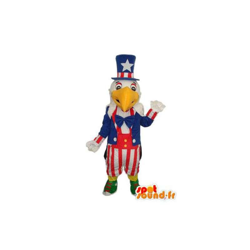 Mascot die den Nationalvogel der Vereinigten Staaten von Amerika - MASFR004157 - Maskottchen der Vögel