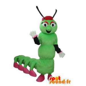 Fantasia representando uma lagarta - customizável - MASFR004170 - mascotes Insect