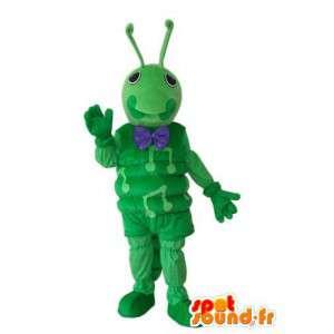 Musical caterpillar costume - Costume green caterpillar - MASFR004174 - Mascots insect