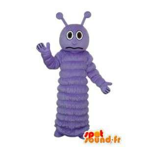 Puku, joka esittää violetti toukka - MASFR004179 - maskotteja Hyönteisten