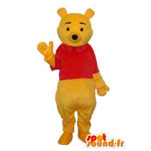 Costume som viser en rød genser bjørn - MASFR004180 - bjørn Mascot