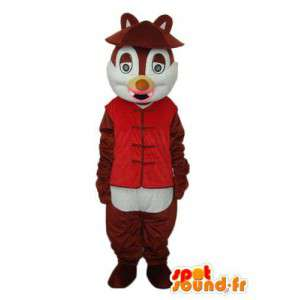 Puku edustaa liivi jyrsijä - MASFR004193 - hiiri Mascot