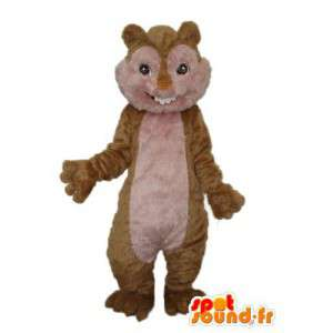 Edustavat orava puku - Muokattavat - MASFR004203 - maskotteja orava