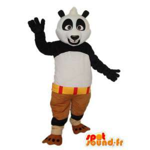 Kostüm schwarz weiß panda - Panda Maskottchen aus Plüsch - MASFR004213 - Maskottchen der pandas