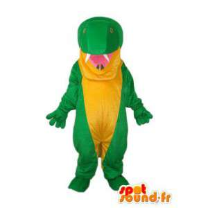 Carácter de la mascota de la serpiente - disfraz reptil