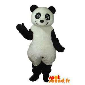 Mascot schwarz und weiß Panda - Panda Kostüm - MASFR004217 - Maskottchen der pandas