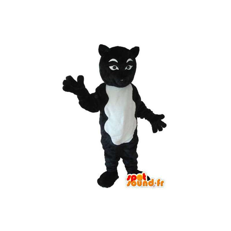 Strój czarno-biały kot - czarno-biały kot kostium - MASFR004221 - Cat Maskotki