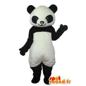 Mascot schwarz und weiß Panda - Panda Kostüm - MASFR004232 - Maskottchen der pandas