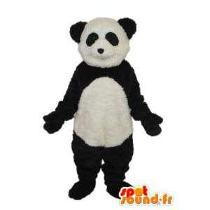 Zwart en wit panda mascotte - panda kostuum  - MASFR004239 - Mascot panda's
