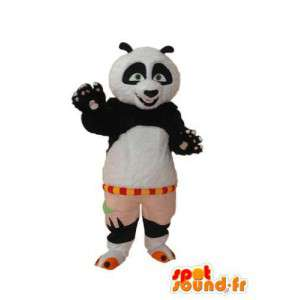 Kostüm schwarz weiß panda - Panda Maskottchen aus Plüsch - MASFR004244 - Maskottchen der pandas