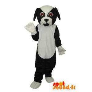 Mascot cane nero bianco - costume cane giocattolo - MASFR004246 - Mascotte cane