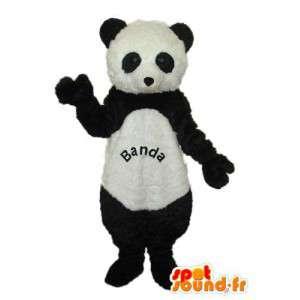 Panda Maskottchen Plüsch schwarz und weiß - Panda-Outfit - MASFR004249 - Maskottchen der pandas