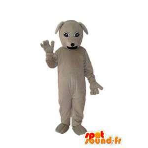 Dog Mascot stevige beige pluche - dog costume - MASFR004258 - Dog Mascottes