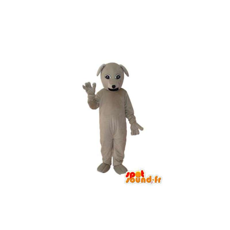 Dog mascot plush beige united - dog costume - MASFR004258 - Dog mascots