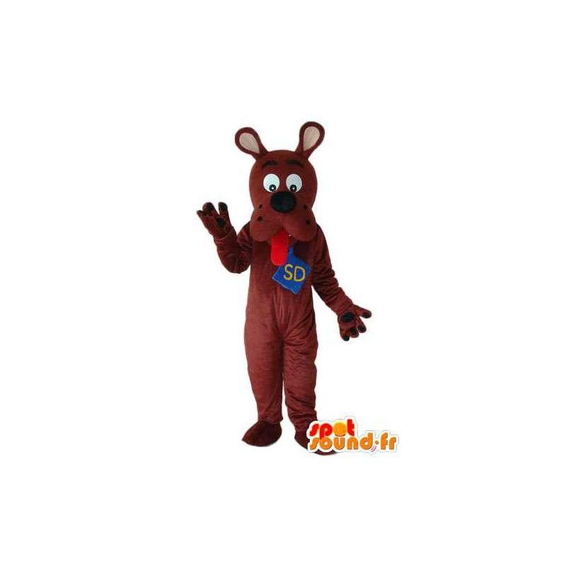 Mascot scooby doo - scooby doo costume - MASFR004271 - Mascotte Scooby Doo
