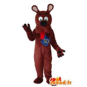 Mascot Scooby Doo - Scooby Doo valepuvussa - MASFR004271 - Maskotteja Scooby Doo