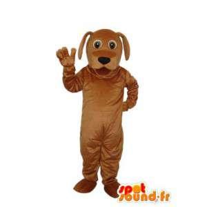 Pies pluszowy strój stałe brązowy - pies kostium  - MASFR004275 - dog Maskotki