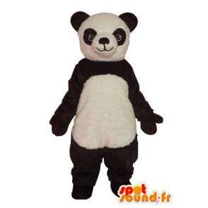 Kostüm schwarz weiß panda - Panda Maskottchen aus Plüsch - MASFR004276 - Maskottchen der pandas