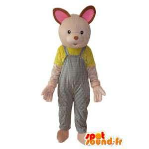 Beige bunny costume - Costume plush rabbit - MASFR004287 - Rabbit mascot