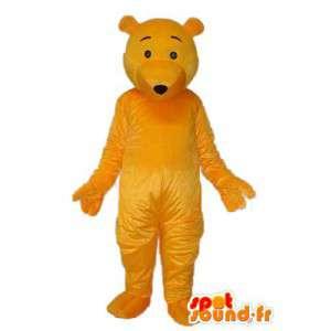 Maskotti united keltainen karhu - Nalle Suit - MASFR004316 - Bear Mascot