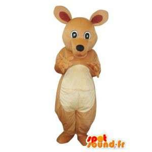 Brown mascotte peluche cane - Costume Orso - MASFR004320 - Mascotte cane