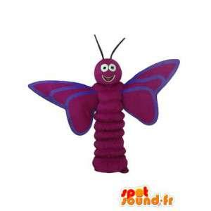 Mascotte de libellule rouge – Déguisement de libellule
