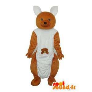 Maskot isbjørn og brunbjørn - bære drakt - MASFR004322 - bjørn Mascot